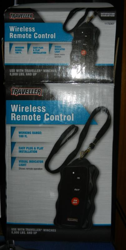 added inexpensive wireless remote to the pj dump trailer