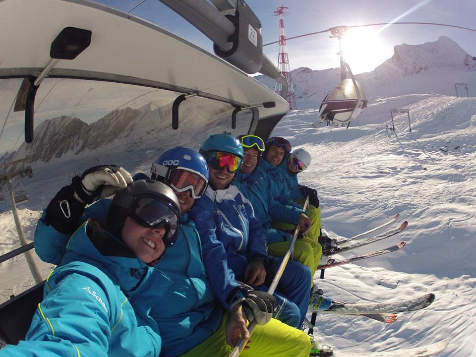 Skilehrer Skiclub Altomünster im Skilift