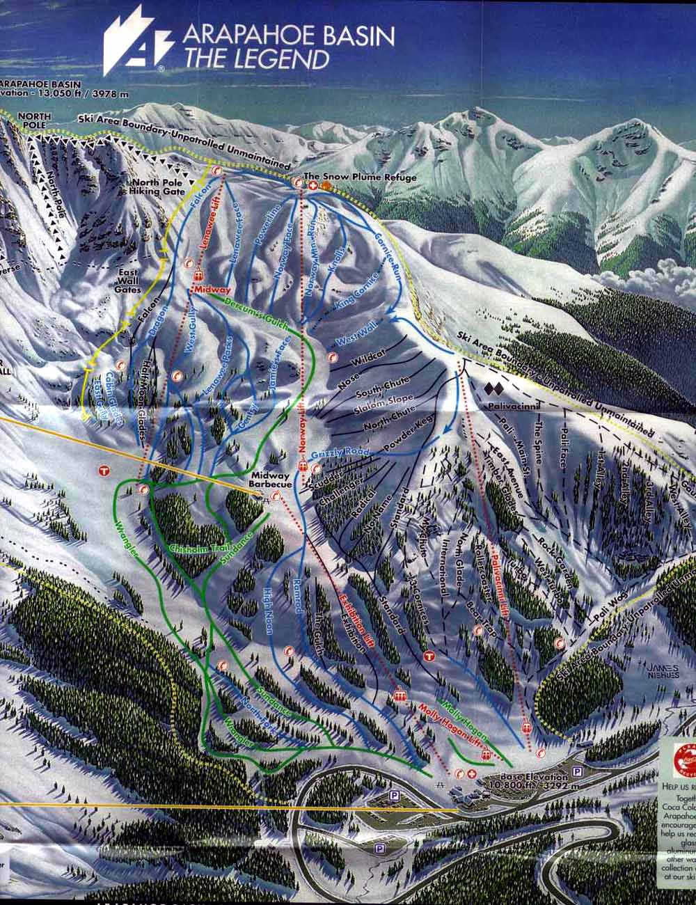 Keystone Ski Resort Mountain