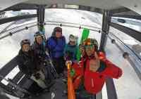 cervinia ski school group