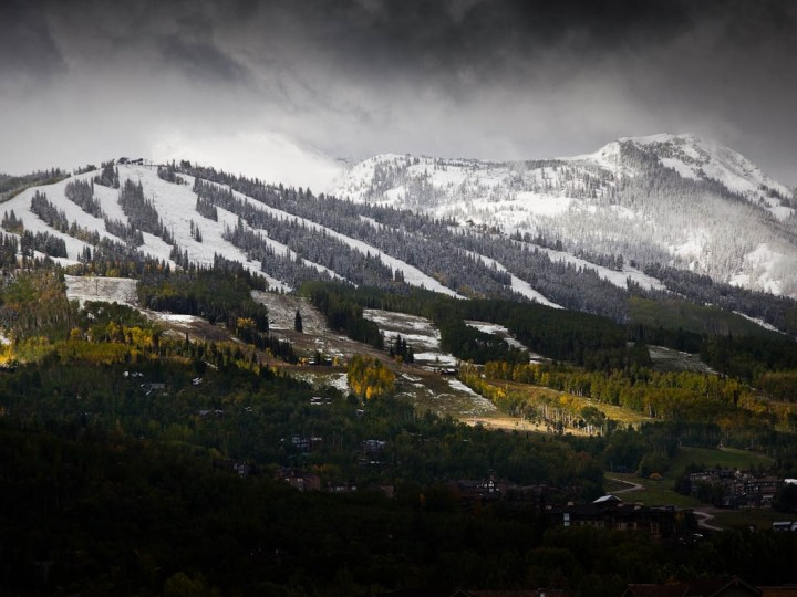 Colorado early snow, Colorado September snow,