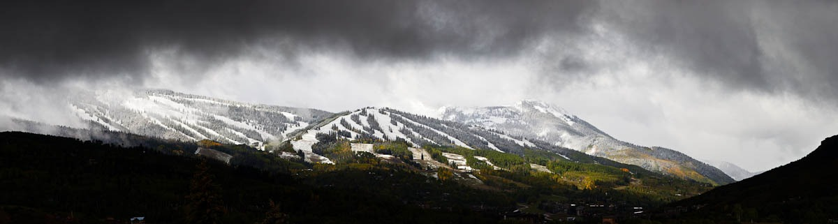 Aspen Snow, Autumn Snow, Aspen snow,