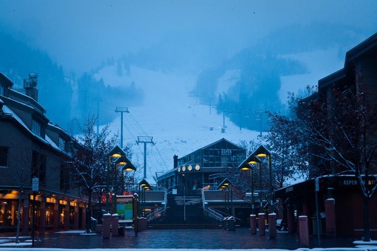 Gondola Plaza at Aspen Mountain   Photo: Aspen/Snowmass, Jeremy Swanson