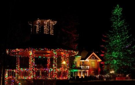 Aspen' Christmas Lights, Aspen Christmas, Aspen's Paepke Park