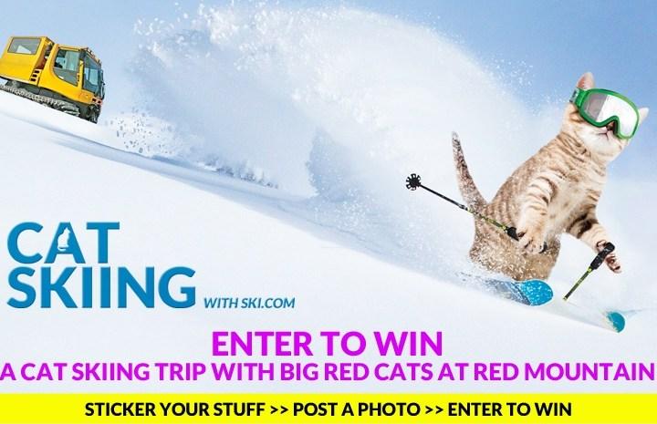 Enter to win Ski.com's cat skiing trip