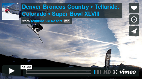 Watch Telluride's Broncos video
