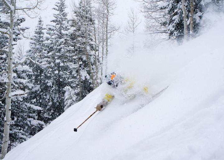 Aspen powder day