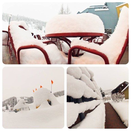 Winter Park new snow