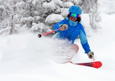 New snow at Steamboat