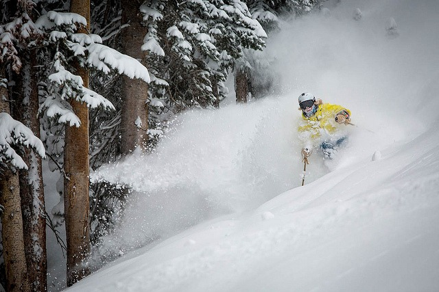 1 foot of new snow on Aspen