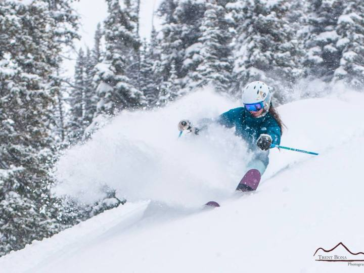 Lots of snow in Crested Butte
