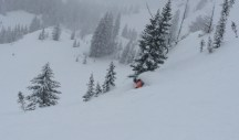 Jackson Hole Rock Springs powder day