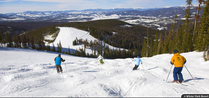 Winter Park extends 2013/14 ski season by one week.