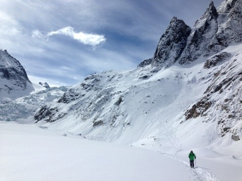 Vallee Blanche skiing
