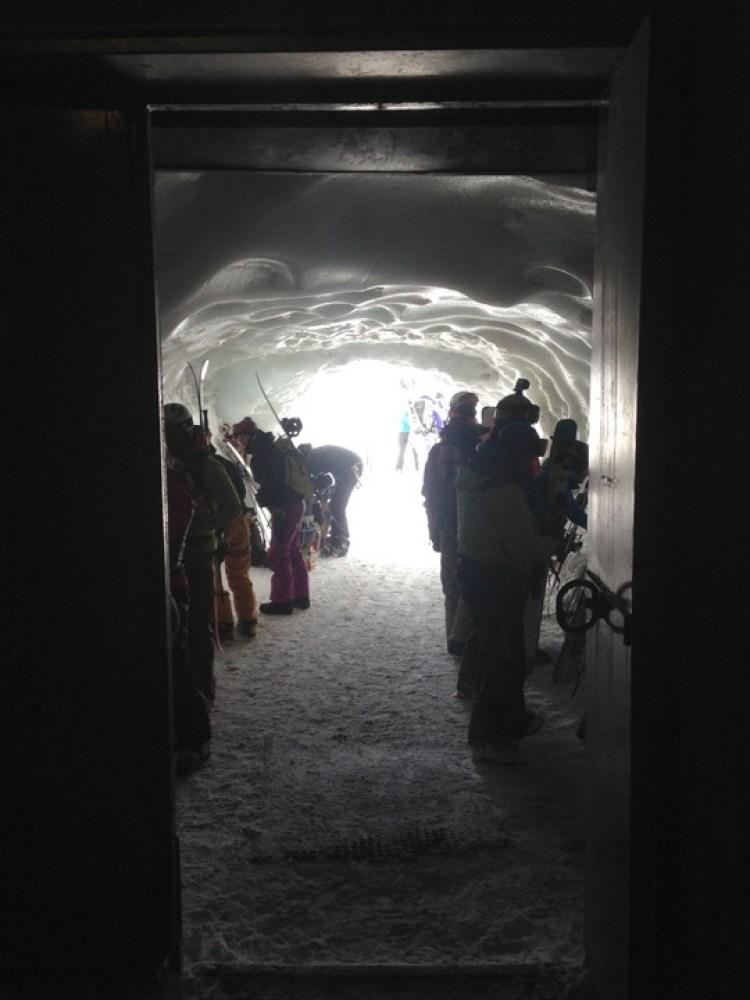 Aiguille du Midi Chamonix ice cave