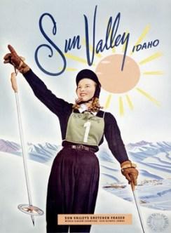 Sun Valley Vintage Ski Poster