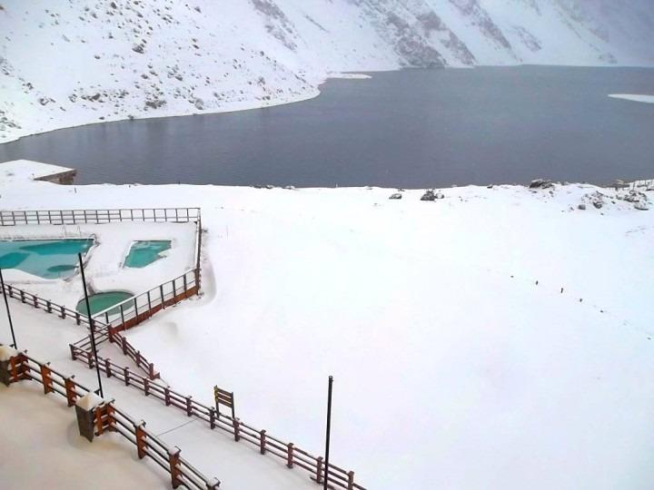 June Portillo snow