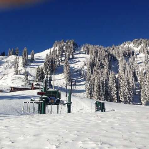 June snow at Alta
