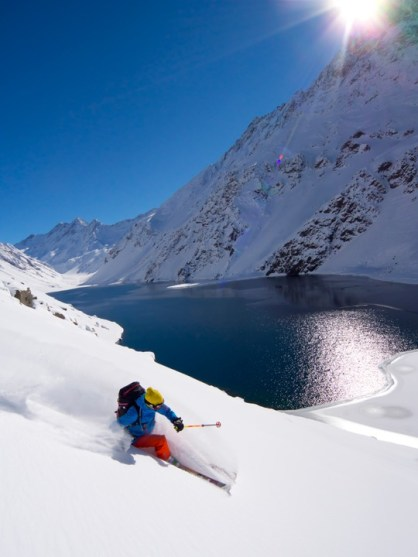 Modern Portillo powder skiing is just as good if not better... | photo: Roger Van Rijn, Portillo