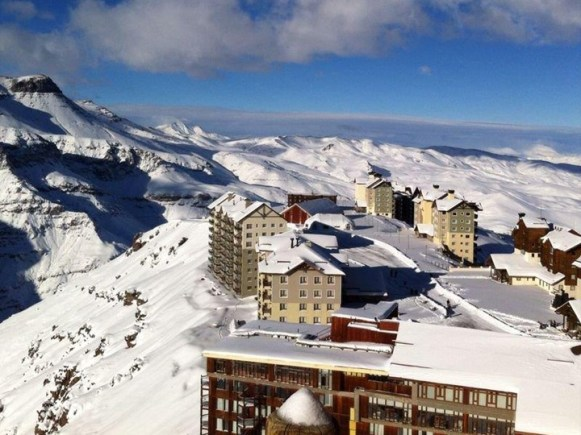Valle Nevado after the storm