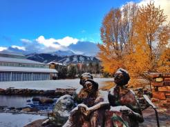 Oct. 22 snow Breck