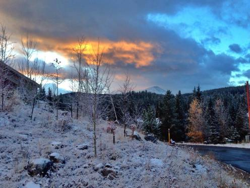 Breck snow Oct. 22