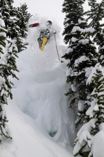 There's a bounty of steep and deep trees to play around in at Whistler Blackcomb. pc: Destination BC/Randy Lincks