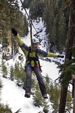 Ziptek EcoTours, zip lining Whistler Blackcomb