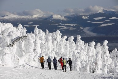Big White skiing, Big White terrain