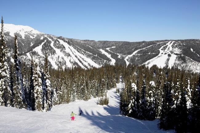 Sun Peaks terrain, Sun Peaks skiing