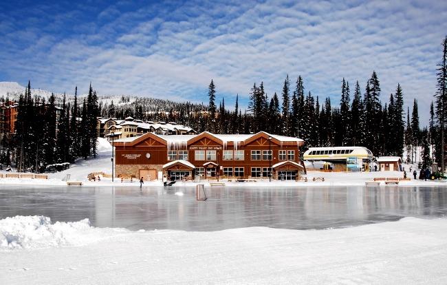 Big White ice skating