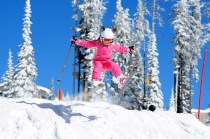 There's tons of family and intermediate-friendly skiing at Big White. pc: Big White Ski Resort