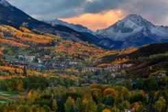 Snowmass Village September snow
