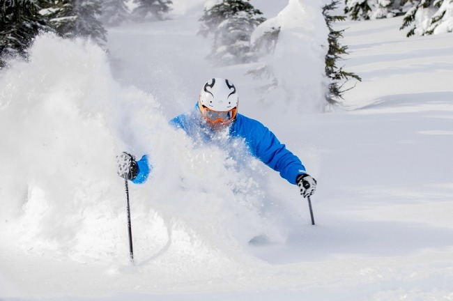 Big White powder