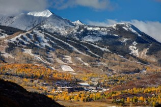 Early snow Snowmass