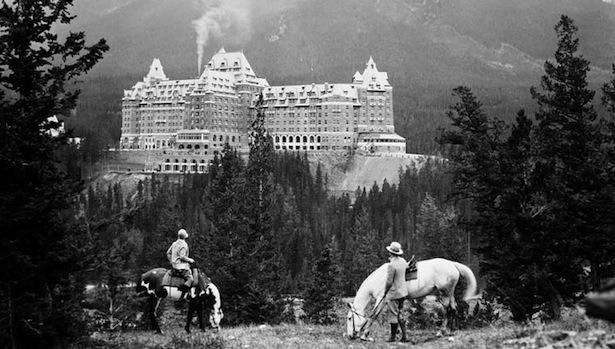 The Banff Springs Hotel in 1929.