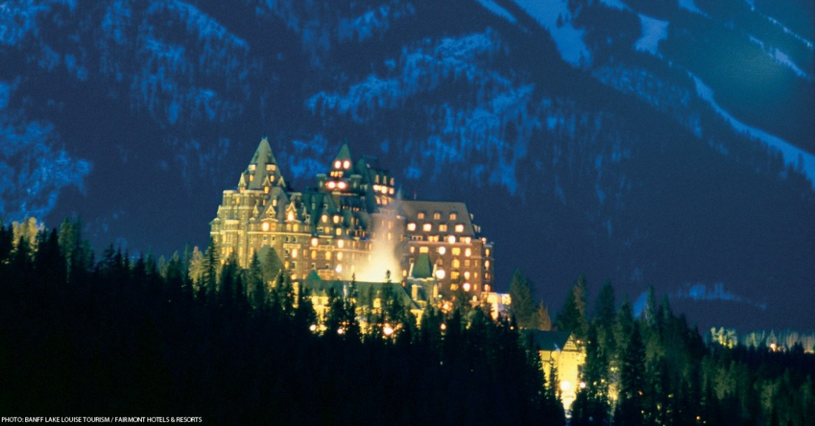 """The """"Castle in the Rockies"""" 