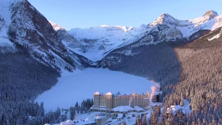 Best mountain lakes in ski country Lake Louise