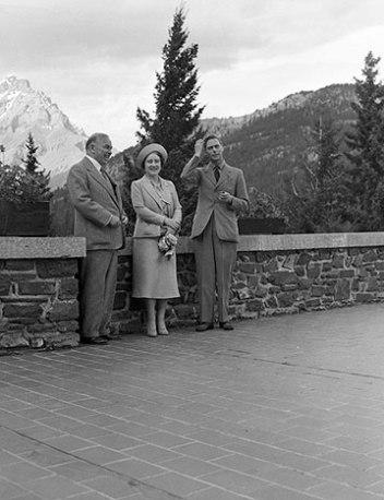 Royals in Banff