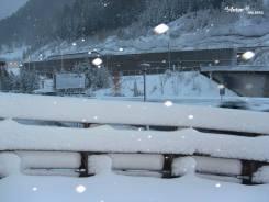 St Anton snow storm