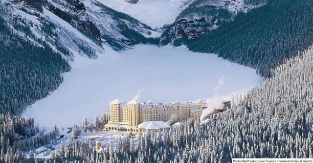 Chateau Lake Louise | Photo: Banff Lake Louise Tourism + Fairmont Hotels & Resorts