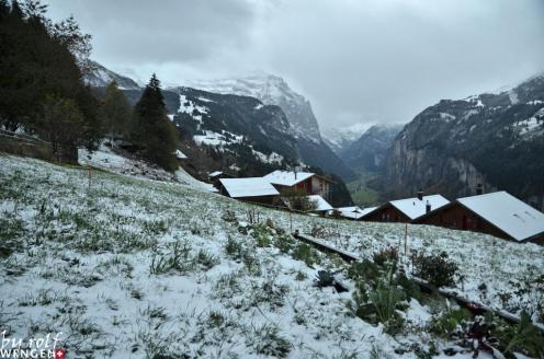 Wengen Switzerland snow