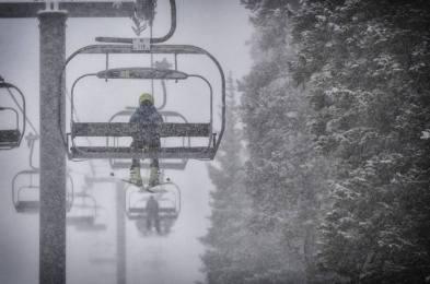 Copper snow, Copper Mountain powder day,