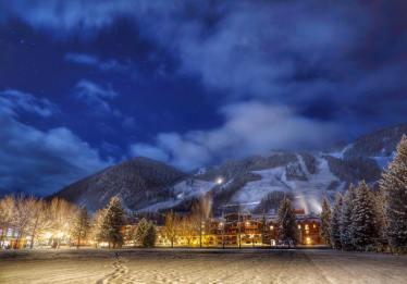 Aspen blowing snow, Aspen snowguns