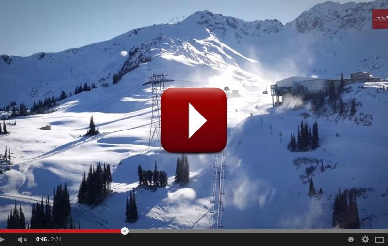 Whistler Blackcomb video, Whistler Blackcomb opening