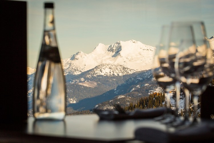 whistler fine dining, whistler on mountain dining