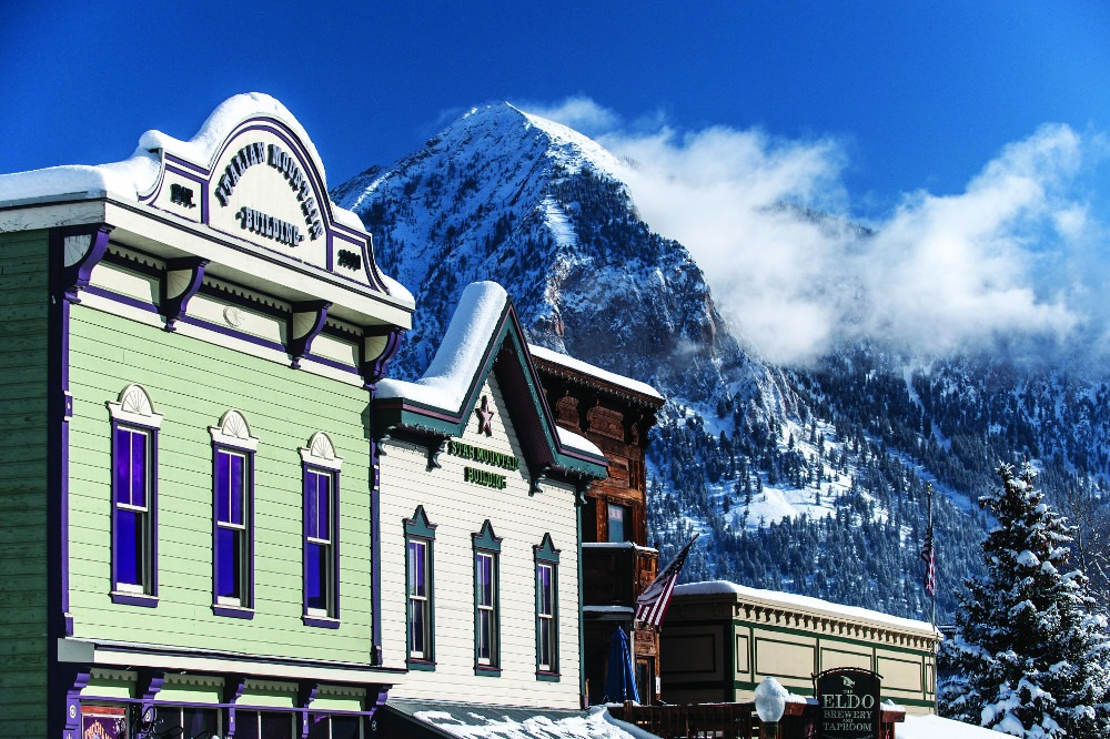 downtown Crested Butte, Elk Ave Crested Butte