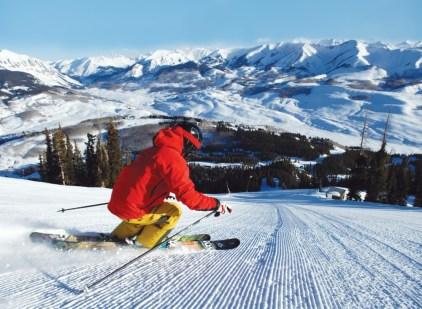 Crested Butte skiing terrain, Crested Butte intermediate ski terrain