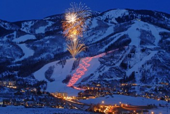 Steamboat fireworks, Steamboat Springs New Year's Eve, Steamboat NYE
