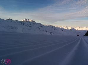 The first light hits Val Thorens on Jan. 2